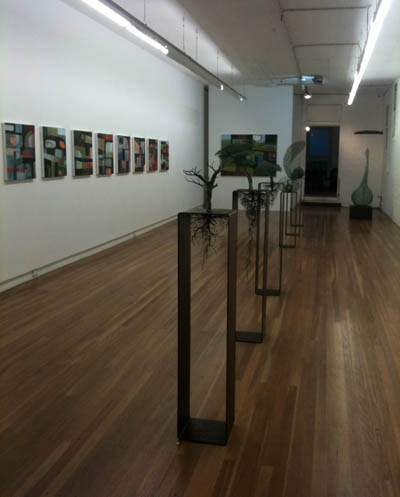 'One Night Stand' at Damien Minton Gallery, night 9, Connie Anthes, night 11 featuring Rachel Burns and Ulan Murray (1/4)