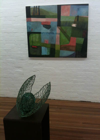 'One Night Stand' at Damien Minton Gallery, night 9, Connie Anthes, night 11 featuring Rachel Burns and Ulan Murray (3/4)
